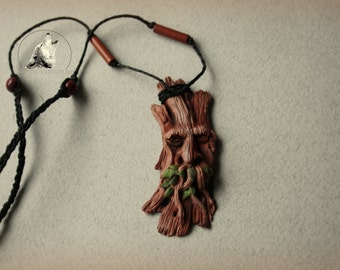 Ent polymer clay necklace