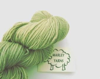 Hand-dyed yarn - Merino DK - 100g - Leaf Green