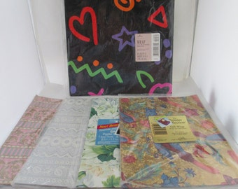 NOS 5 Packs of American Greetings Wrapping Paper unopened gift wrap gift paper Hallmark wrapping paper Hallmark gift paper unopened paper