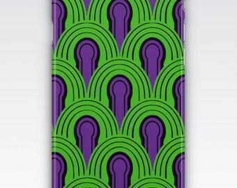 Case for iPhone 8, iPhone 6s,  iPhone 6 Plus,  iPhone 5s,  iPhone SE,  iPhone 5c,  iPhone 7  - The Shining Room 237 Carpet Design