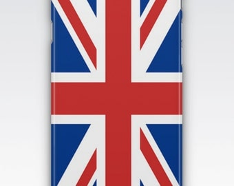 Case for iPhone 8, iPhone 6s,  iPhone 6 Plus,  iPhone 5s,  iPhone SE,  iPhone 5c,  iPhone 7  - Union Jack Flag Design iPhone
