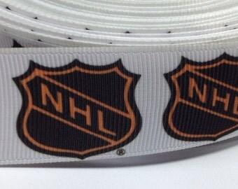 "5 Yards of 1"" NHL Grosgrain Ribbon"