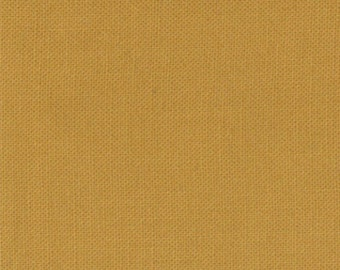 Bella Solid Fabric from Moda, Harvest Gold