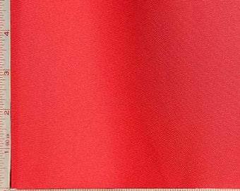 "Red 70 Denier Interlock Fabric 2 Way Stretch Polyester 6.5 Oz 58-60"""