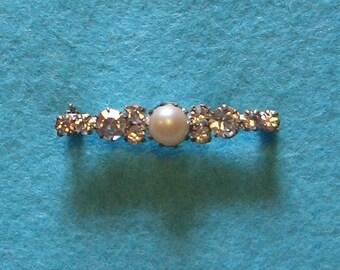 sparkling jewelled brooch