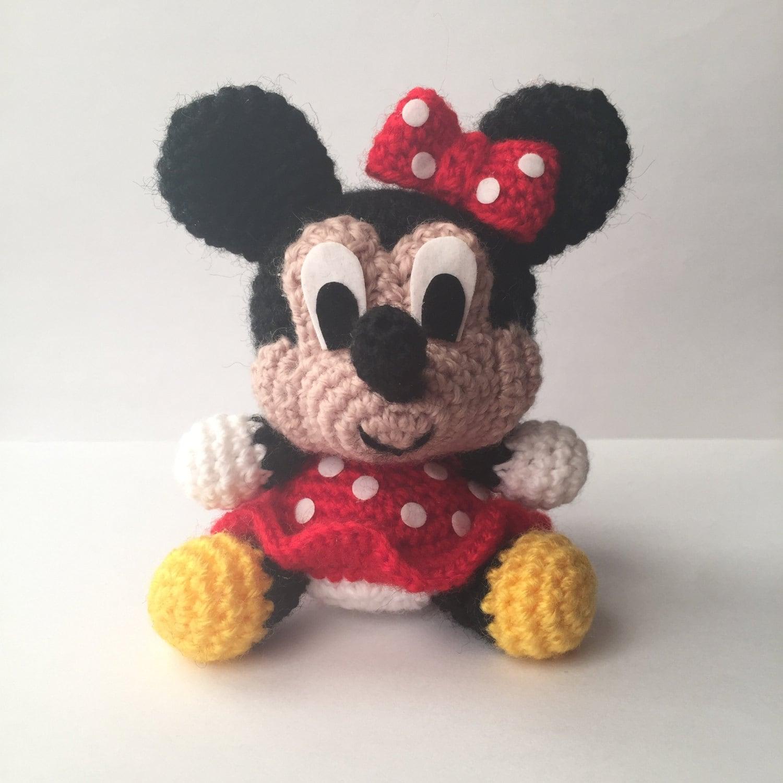 Amigurumi Pattern Minnie Mouse : MINNIE Mouse Disney Amigurumi Pattern Baby Easy by ...