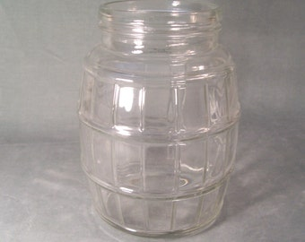 Vintage Jar Barrel       S804