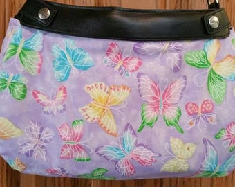 PS 009 Butterfly Design Suite Skirt COVER ONLY for the 31 Suite Skirt Purse Handmade