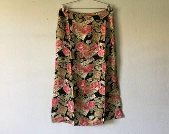 Vintage 80s Long Skirt