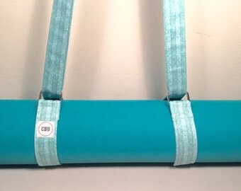 Yoga Mat Strap, Yoga Mat Sling, Yoga Strap, Yoga Mat Carrier