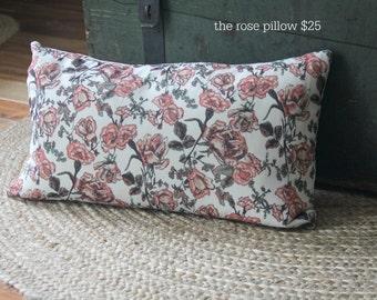 The rose pillow