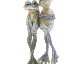 Long legged frog couple