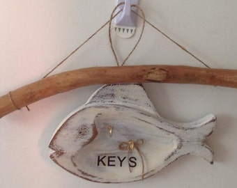 One off Fish Key Holder