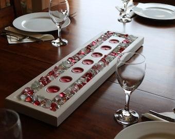 Valentines Tea Light Candle Table Center Piece