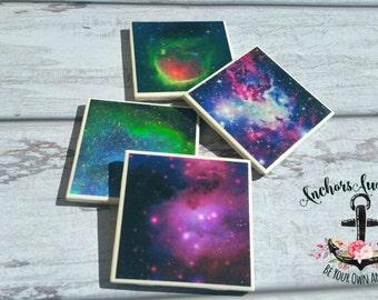 Galaxy coaster set