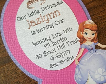 Princess mirror invites, royalty invitations, mirror invitations