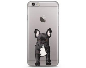 French Bulldog iPhone 6s case, Custom illustrated dog iPhone Case, Hand Drawn dog iPhone Case, iPhone 7 case, iPhone 7 plus case