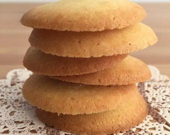 Homemade organic cookies
