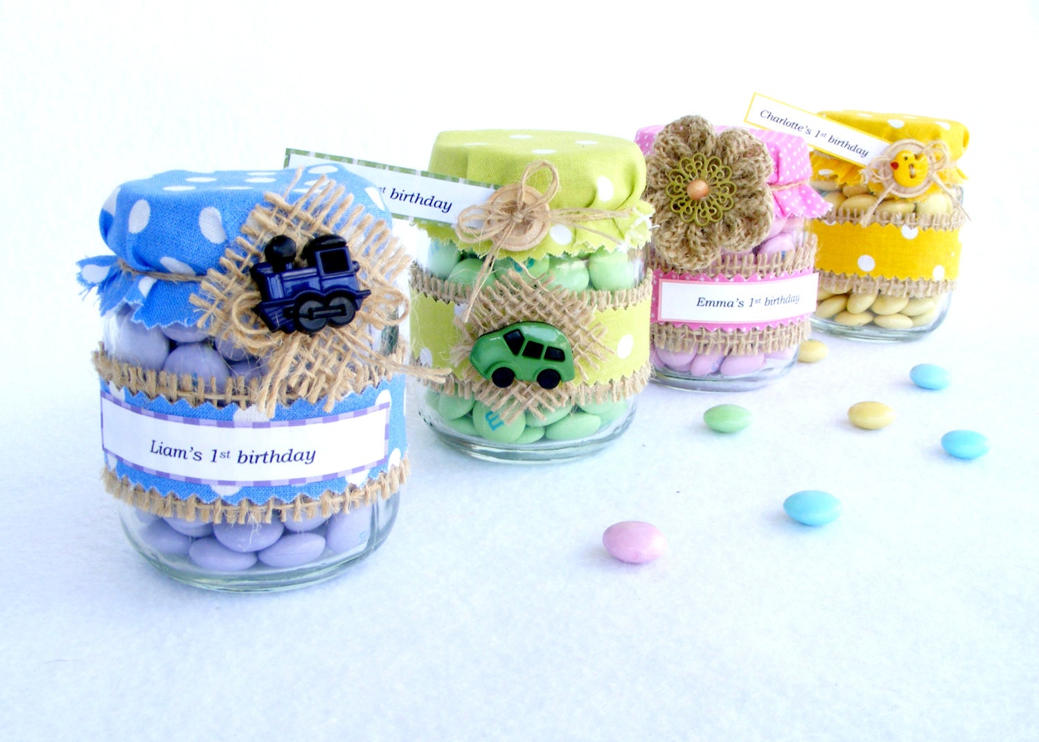 baby shower favors in jar rustic baby shower birthday party