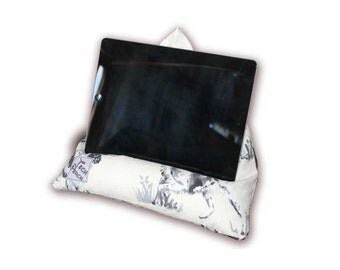 IPad Stand Tablet Pillow Gundog Kindle Cushion Ereader Beanbag iPad Accessory Birthday Present Gift For Him Spaniel Beagle Pointer Setter