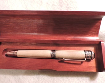 Handcrafted Faith-Hope-Love Wood Turned Twist Ball Point Pen  *P-15-7*