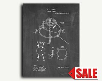 Patent Art - Baby-Walker Patent Wall Art Print