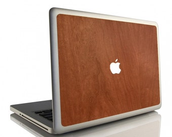 Stickers MacBook wooden - Made in France