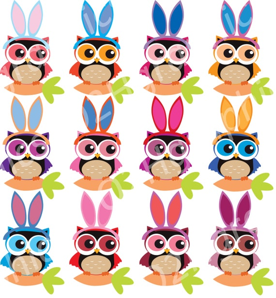 free easter owl clip art - photo #39