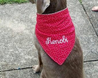 Dog Bandana, Dog outfit, pet accessory, dog collar, dog bandanas, dog lover gift, dog scarf, best friend gift, personalized dog collar, dog