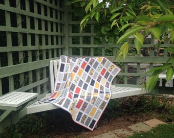 Lap Quilt Modern Colours