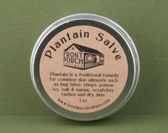 Plantain Salve - 1 oz