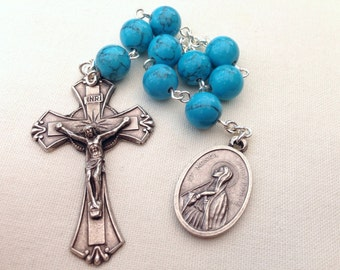 St Monica / St Augustine Chaplet // Prayer chaplet // Catholic gift