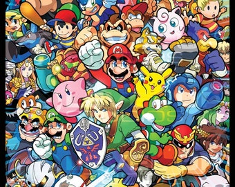 Super Smashing Poster