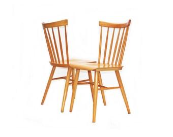 Pair Danish Dining Chairs