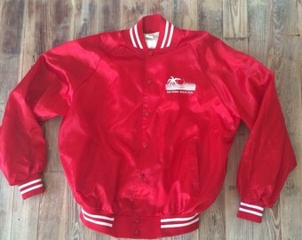 Daytona Beach satin coach's jacket
