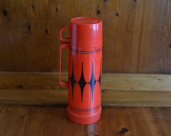 Thermos Aladdin Vintage USA Made Red