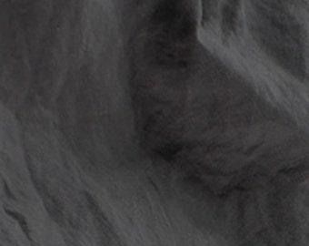 Tissu lin lavé taupe foncé