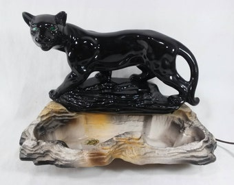 Panther Tv Lamp Etsy