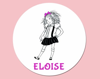 Eloise Plate, Eloise at the Plaza, Personalized Melamine Plate or Bowl, Custom Plate