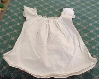 Antique Unique Baby Doll Dress with Lace