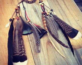 Navajo Feather Headband