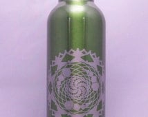 Crops in Crown, Stainless Steel Water Bottle