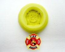 Firefighter Silicone Mold/Food Grade