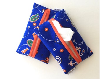 Travel Tissue Case - Florida Gators