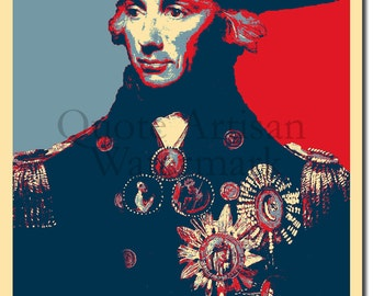 Horatio Nelson Original Art Print - Photo Poster Gift