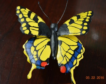 Hand Carved Butterfly