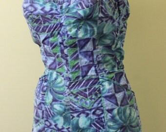 Miss Hawaii Kamehameha Vintage Swimsuit / Playsuit