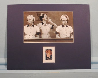 Lucille Ball and Desi Arnaz  in I Love Lucy honored by the Lucille Ball Stamp