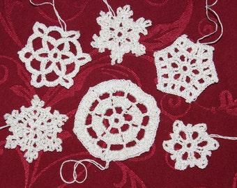 crochet snowflakes Nr. 10