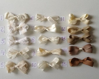 Play-Time Small Cream Bows